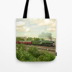 Flying Scotsman at Bristol Temple Meads Tote Bag