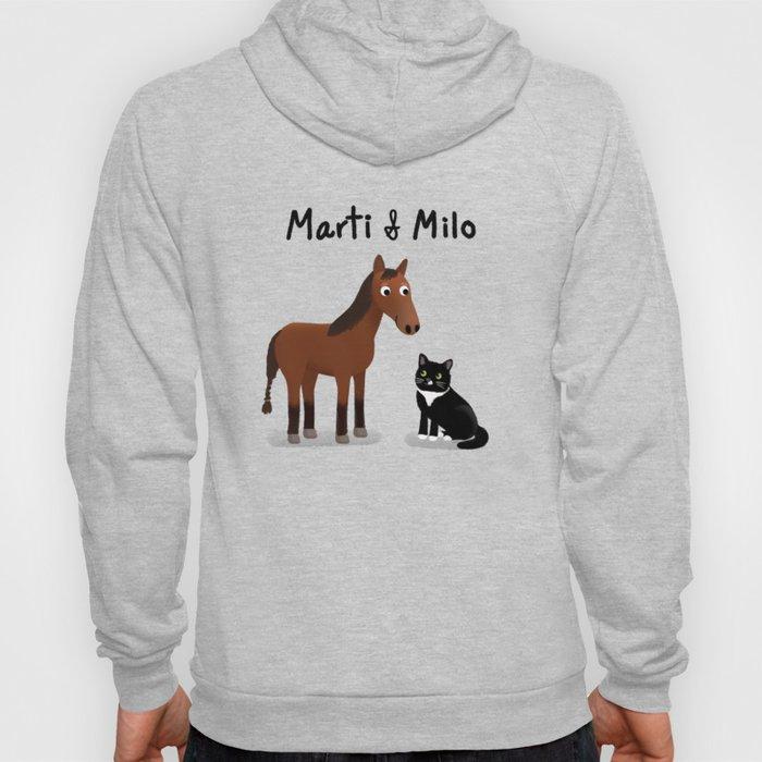 "Custom Art ""Marti & Milo"" Hoody"