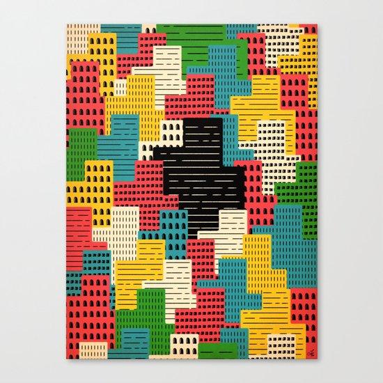 Buildingburgh Canvas Print