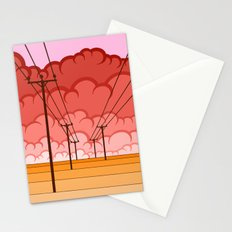 Communication Let Me Down Stationery Cards