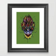 Mystical Feg the Vampire Priestess  Framed Art Print