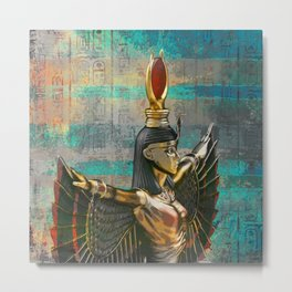Isis - Goddess of Egypt Metal Print