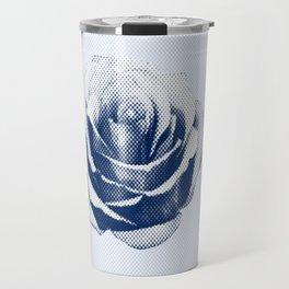 HALFTONE ROSE Travel Mug