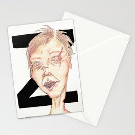 Z is for Zombie Stationery Cards