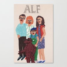 Alf Canvas Print