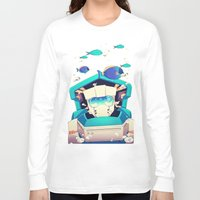 underwater Long Sleeve T-shirts featuring Underwater by Coralus