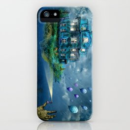 A journey with the wind iPhone Case