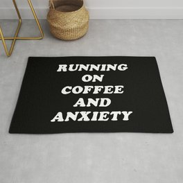 Coffee And Anxiety Rug