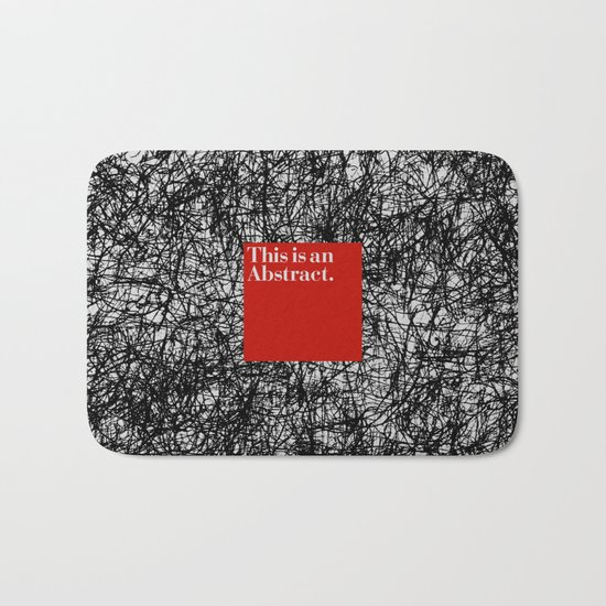 ABSTRACT CERTIFIED Bath Mat