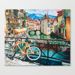 Annecy, France Canvas Print