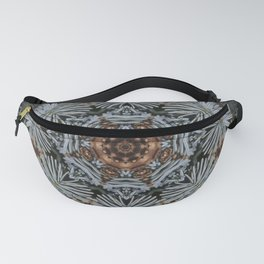 Spruce Cones And Needles Kaleidoscope K4 Fanny Pack