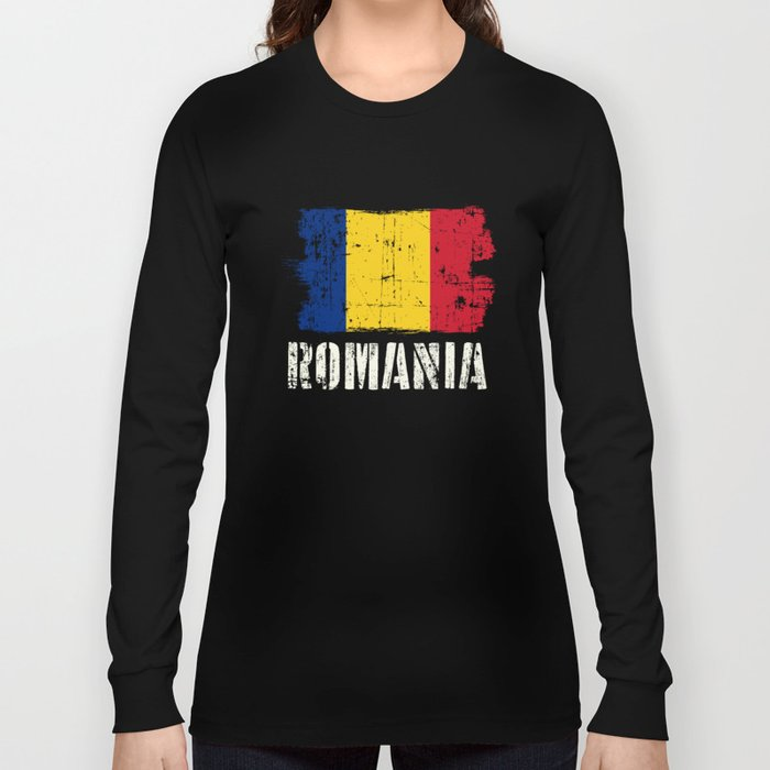 World Championship Romania T-Shirt Long Sleeve T-shirt