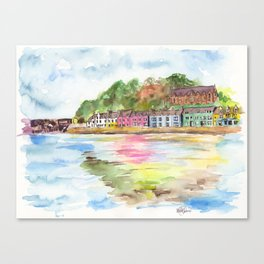 Portree, Scotland Canvas Print