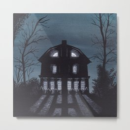 """The Amityville Horror"" (1977) Metal Print"