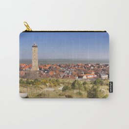 West-Terschelling and Brandaris lighthouse on Terschelling island, The Netherlands Carry-All Pouch