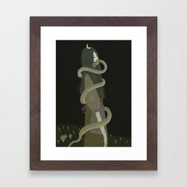 Vipera berus Framed Art Print