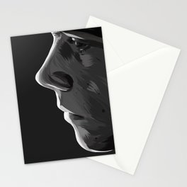 like a darkness around your heart Stationery Cards