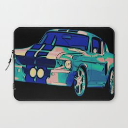 Shelby Mustang Pop Art Laptop Sleeve