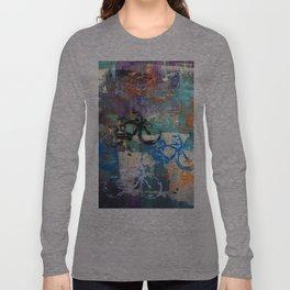 Neon Bicycles - Art Poster Print by Robert Erod Long Sleeve T-shirt
