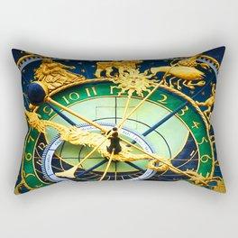 vintage clock_16 Rectangular Pillow