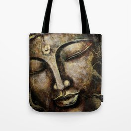 Buddha face painting Tote Bag