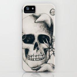 Sea Skull Print iPhone Case