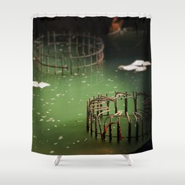 A Little Construction Shower Curtain