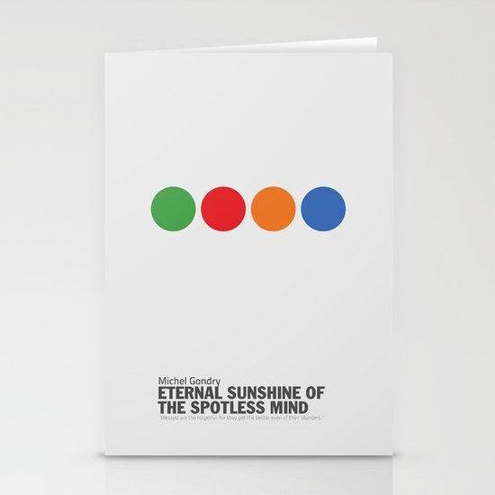 Eternal Sunshine of a Spotless Mind   Minimalist Movie Poster Stationery Cards