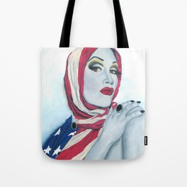 American Ladyboy Tote Bag