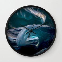 Stuck in the Sea Wall Clock