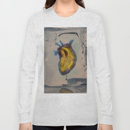 Heart of Gold encased in ice Long Sleeve T-shirt