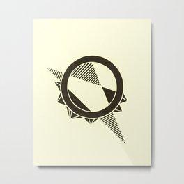 Temporal Metal Print