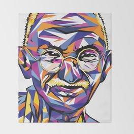 Legend of the fall – Ghandi Throw Blanket