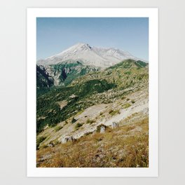 Mt St Helens Art Print
