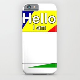 Hello I am from Seychelles iPhone Case
