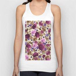 pattern art flower #2 Unisex Tank Top