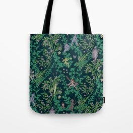 Bird Kingdom Floral Tote Bag