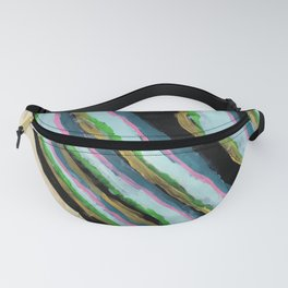 """""""Pinstriped Cactus"""" Fanny Pack"""