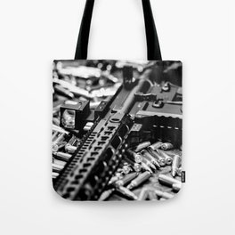 AR-15 Rifle Tote Bag