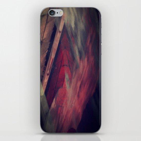 Pyramid Ablaze  iPhone & iPod Skin