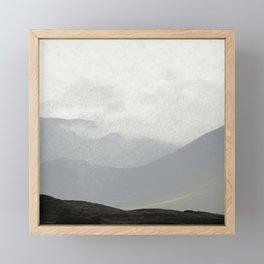Rannoch Moor - mists and mountains Framed Mini Art Print