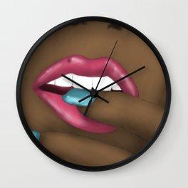 Savor Wall Clock
