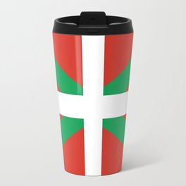 Flag of Euskal Herria-Basque,Pays basque,Vasconia,pais vasco,Bayonne,Dax,Navarre,Bilbao,Pelote,spain Travel Mug