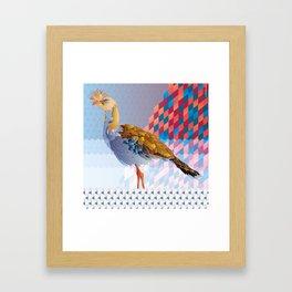 Siriema Framed Art Print