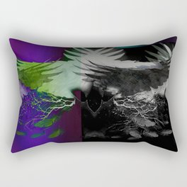 Darkness Rectangular Pillow