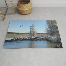 Far end of the Headwaters Rug