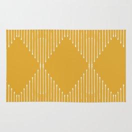 Geo / Yellow Rug