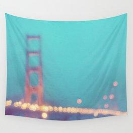 la nuit. San Francisco Golden Gate Bridge photograph Wall Tapestry