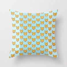 CORGI CORGI CORGI EVERYWHERE Throw Pillow
