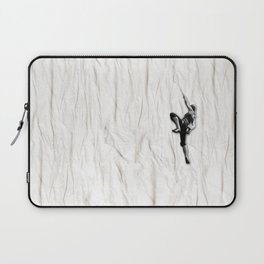 Woman Climbing a Wrinkle Laptop Sleeve